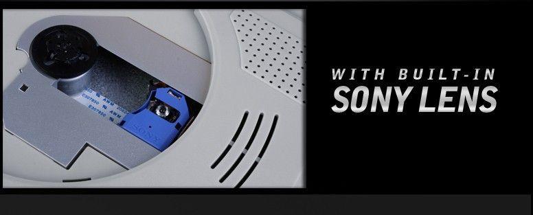 9 inch ram mount car dvd player flip down monitor 800x480 swivel screen USB SD FM radio IR game grey