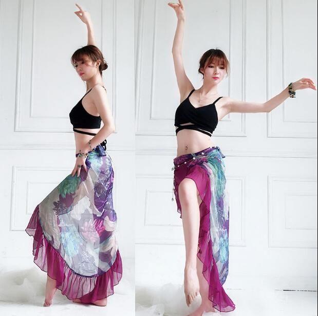 Crazy Chick Ladies Shiny Metallic Dance Gymnastic Racer Crop Top Wetlook