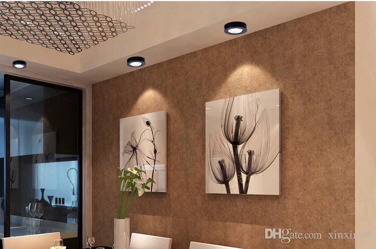 10W / 7W / 5W Anzeige Vitrine Lampen-LED Unter Küchenschränke Leuchten LED-Leuchten für Puck Schließen Garderobe Treppen Flur Nachtlampe