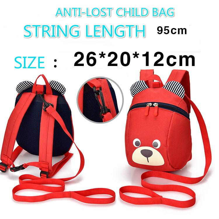 bef117819a KinderGarten Bags 1 - 3 Years Old Boys And Girls Anti- Lost Baby ...