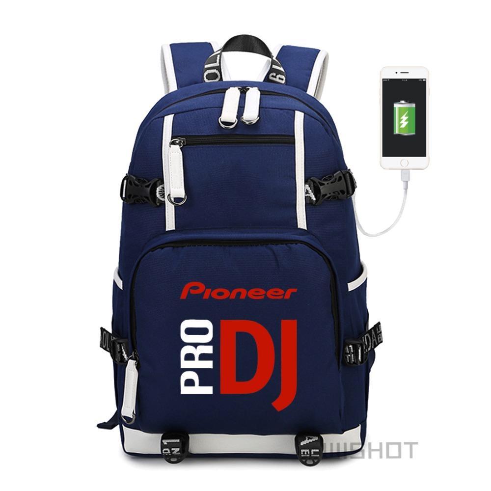 Acquista Borsa Da Viaggio Zaino Da Spalla WISHOT Pioneer DJ PRO Adolescenti  Con Borse Laptop Con Caricamento USB A  46.42 Dal Vikiipedia  c443df829d9