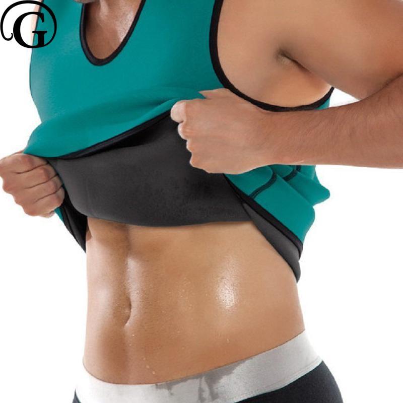 a4f2a2d8c3040 PRAYGER 5xl Neoprene Sauna Fashion Sweat Shapers Hot Thermo Slimming  Adbomen Tops Weight Loss Body Shaper Waist Tank Tops UK 2019 From Xiatian7