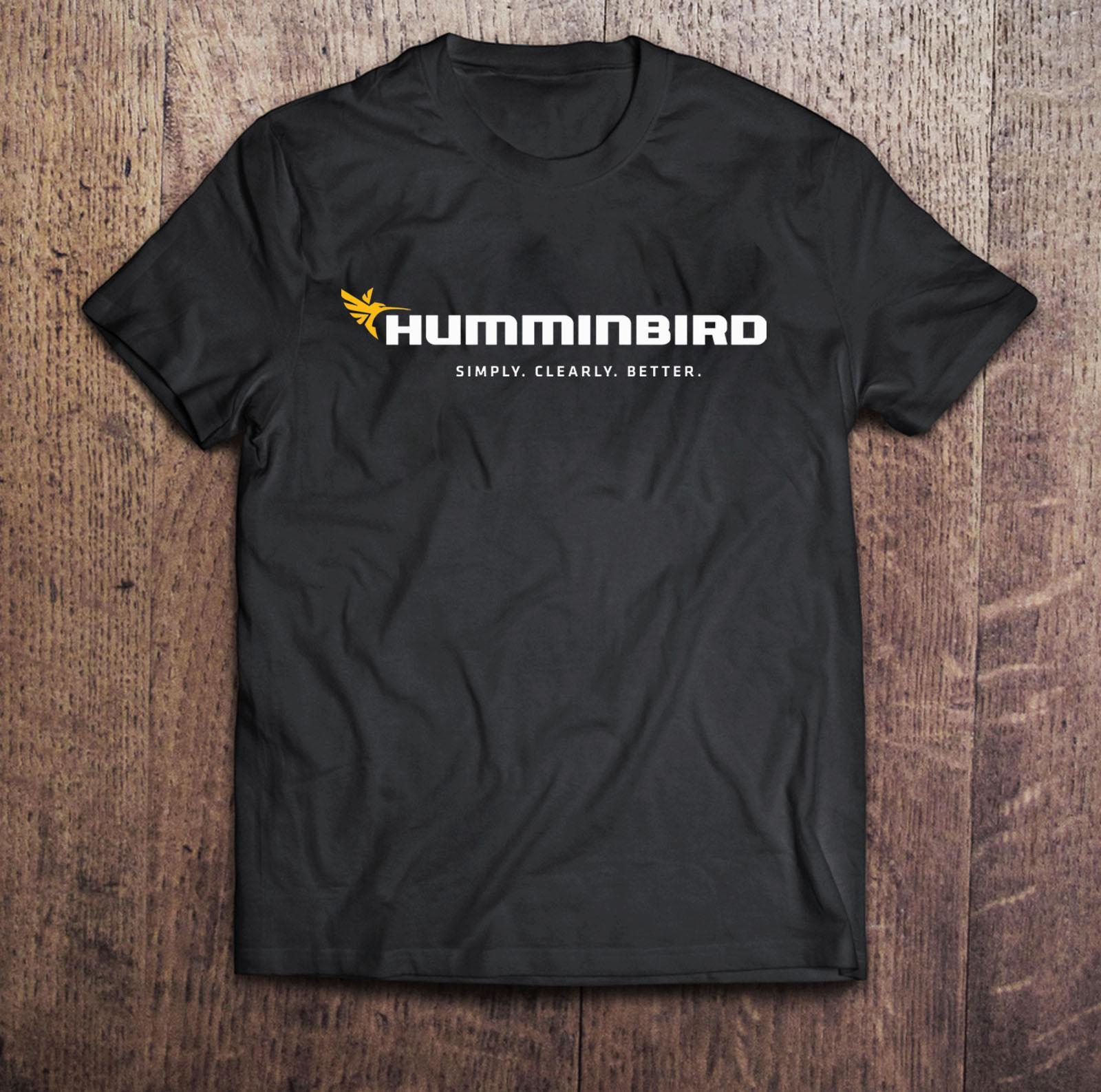 Humminbird Fish Finder Black T-Shirt Men s Tshirt S to 3XLFunny free  shipping Unisex Casual gift