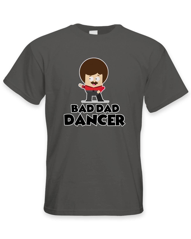 d062b016 Bad Dad Dancer Dad's Funny Birthday Men's T-shirt - Fathers Day Cartoon T  Shirt Men Unisex New Fashion Tshirt Free Shipping Top