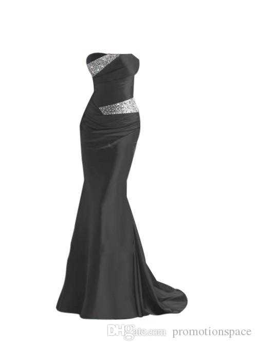 2020 дешевые Русалка Атлас платья невесты бордовый серебристо-серый фиолетовый синий платья фрейлины вечерние платья выпускного вечера платья