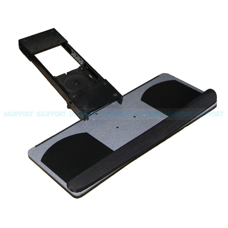 Ergonomic Sliding Tilting Xl Size Wrist Rest Keyboard Holder With Two Mouse Pads For Computer Desk And Tray Lk06a Mousepad