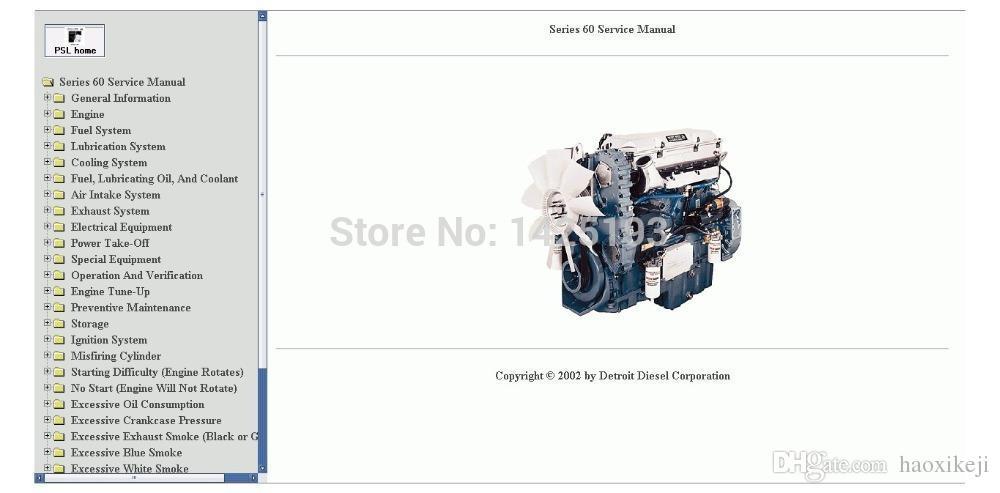 Detroit Diesel 60 Series Service Manual