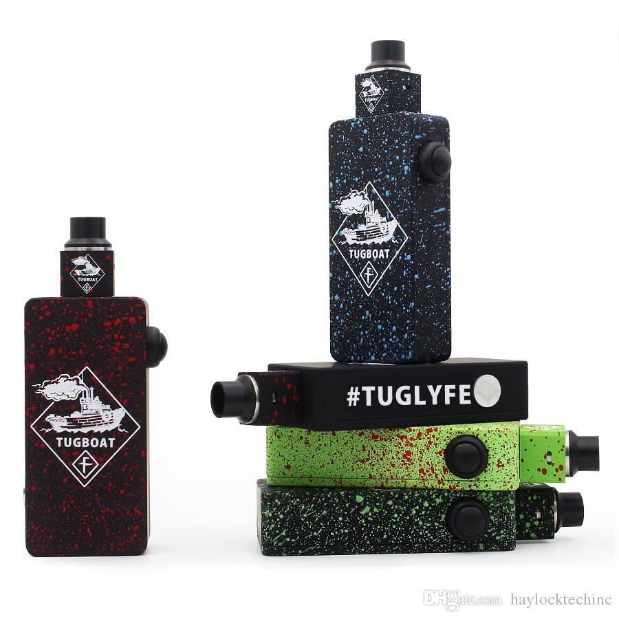 Top Tuglyfe rimorchiatore mod kit mod con tuglyfe colorato non regolamentato mod cubo RDA velocità meccanico rda tuglyfe mod box portatile vaporizzatore