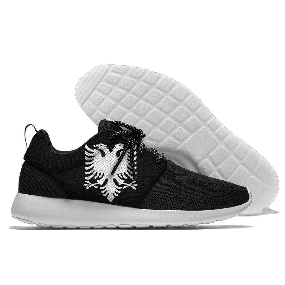63e67f4a4ac557 Running Shoes Lace Up Sport Shoes Comfortable Albania Emblem Walking Athletic  Shoes Light Weight Running Shoes Athletic Shoes Light Weight Online with ...