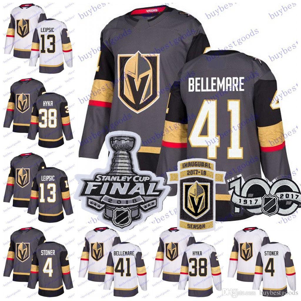 1c0ebd4f6 2018 Stanley Cup Vegas Golden Knights 41 Pierre-Edouard Bellemare 38 ...