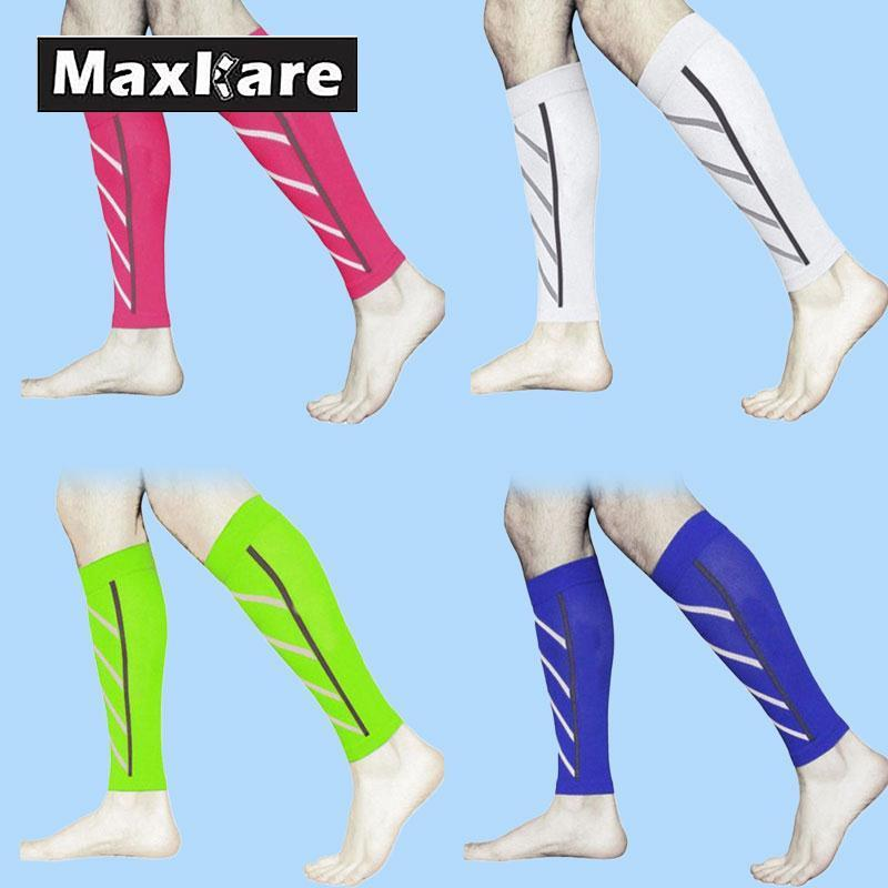 7dd1ec92ab 2019 Maxkare Calf Support Compression Leg Sleeve Sports Socks Shin Splint  Outdoor Brace From Baibuju, $22.02 | DHgate.Com
