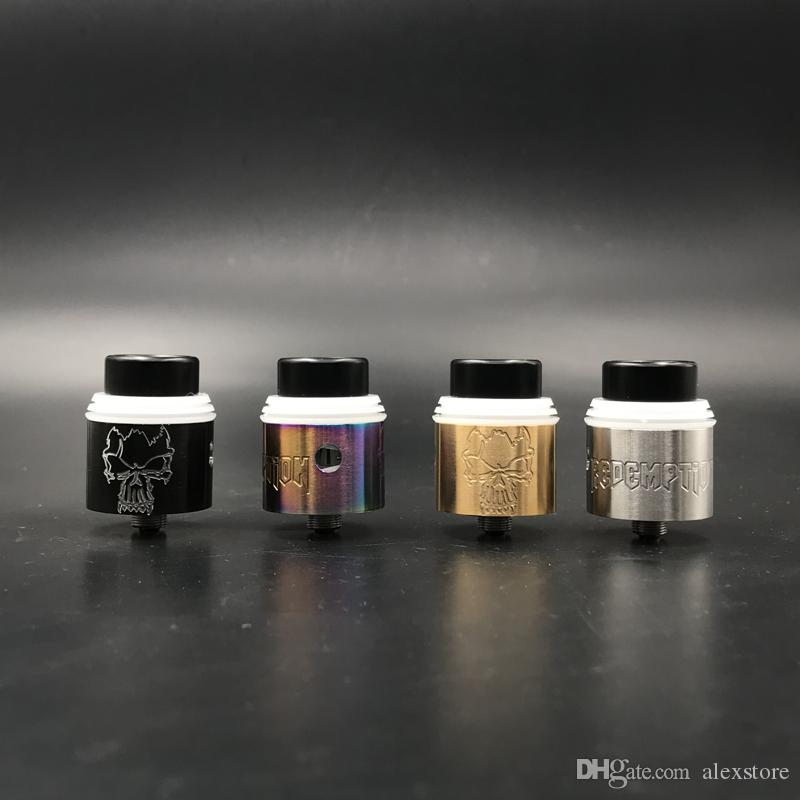 Redemption RDA Clone Replaceable Dripping Atomizers 24mm RDAS Apocalypse Rapture style posts Removeable negative post Vape DHL
