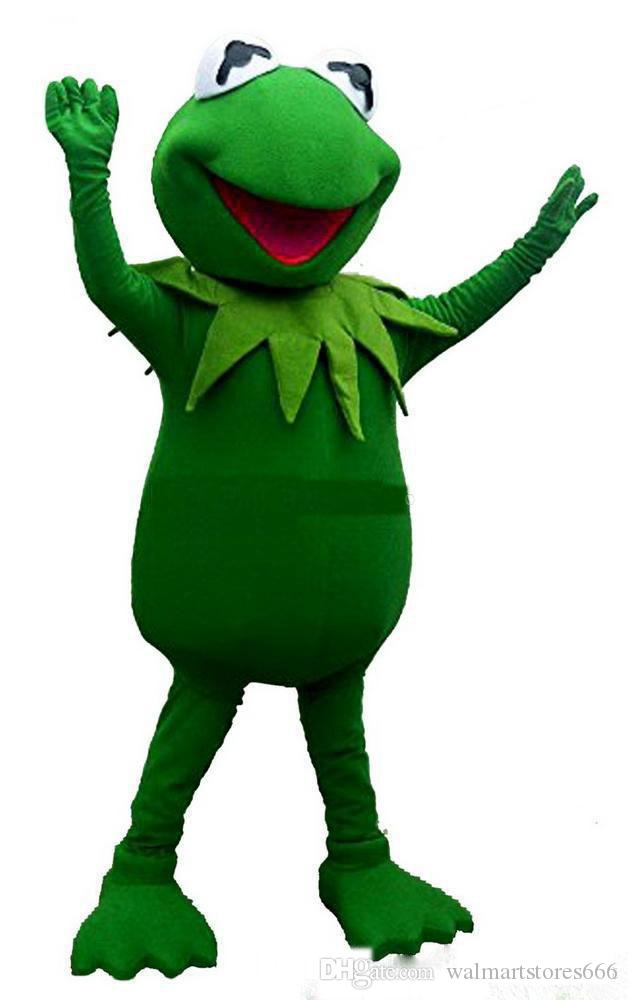 Acquista mascotte rana verde di alta qualità costumi