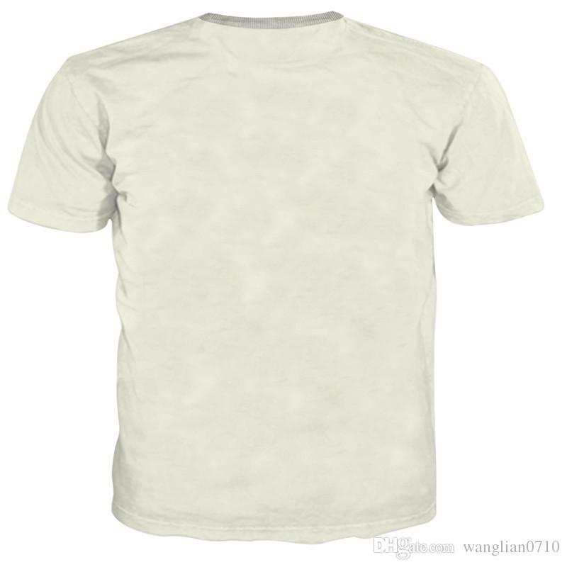 Классический роскошный короткий рукав мужчины 3D футболка лето горячие продажа мода Мужская одежда О-образным вырезом с коротким рукавом 3D футболка футболки топы тройники для человека