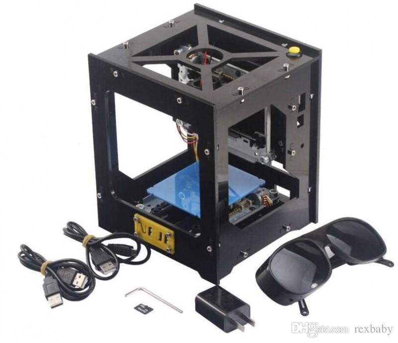 Máquina de Gravação a laser de Alta Energia 1000MW Gravador USB NEJE DK-8-KZ de Alta Velocidade Micro Tipo Espelho Fabricante de Selo DIY Impressora