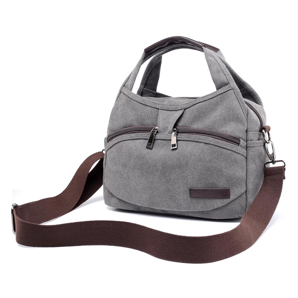 2019 Fashion Women s Canvas Handbags Female Hobos Single Shoulder ... 9566d0a405361
