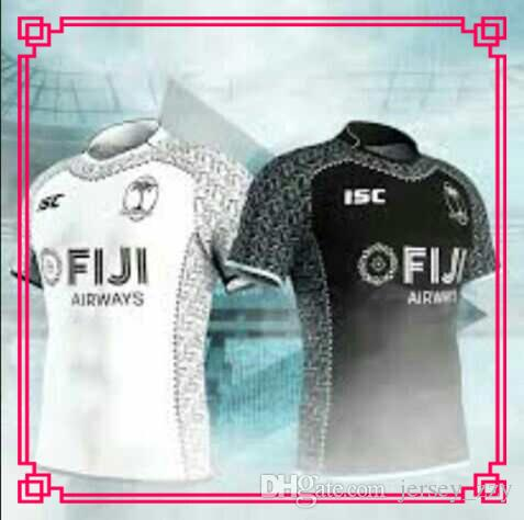 9146cfd645d Newest FIJI 2018 2019 Home Away Rugby Jerseys NRL National Rugby ...