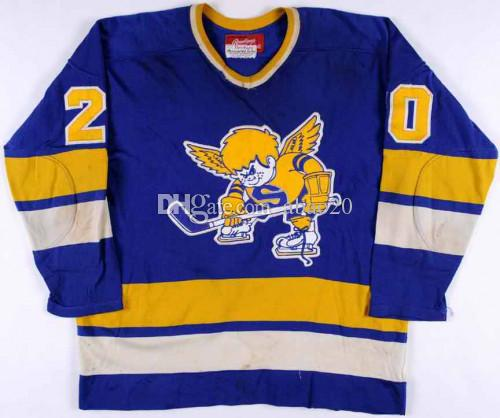 2019 Minnesota Fighting Saints  20 Jack Carlson Ice Hockey Jersey Mens  Embroidery Stitched Customize Any Number And Name Jerseys From Abao20 8cdc400e0c6