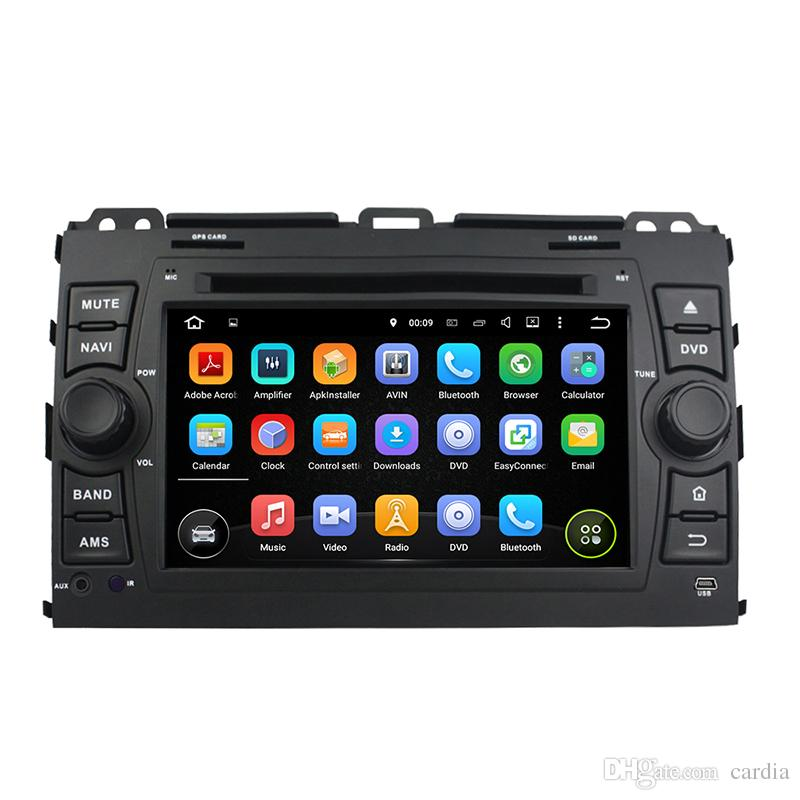 Car DVD player for Toyota PRADO 2006-2010 7inch Andriod 8.0 with GPS,Steering Wheel Control,Bluetooth,Radio