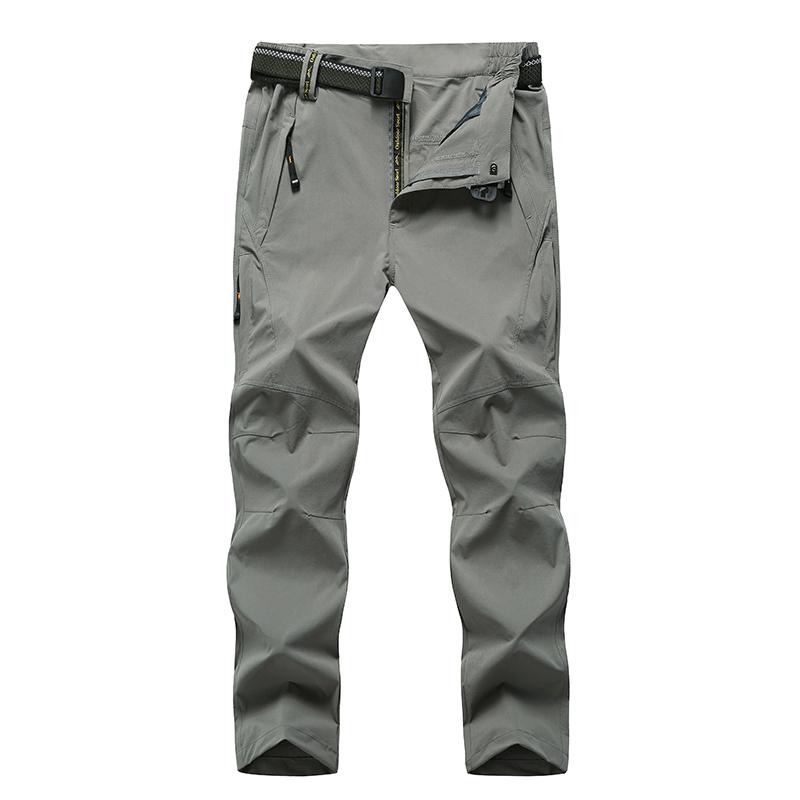1128e127c97 Summer Men s Sports Hiking Trousers Ultra-light Breathable Quick-drying  Camping Trousers Outdoors Plus Size 8XL Waterproof Pants Quick-drying  Trousers ...