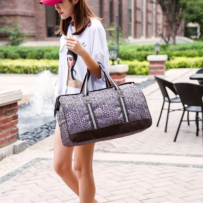 Cross Border For 2018 Summer New Travel Storage Folding Travel Bag To  Increase Short Distance Bag Wholesale Black Handbag Fashion Bags From  Yunduoa 953e93b25e7bd