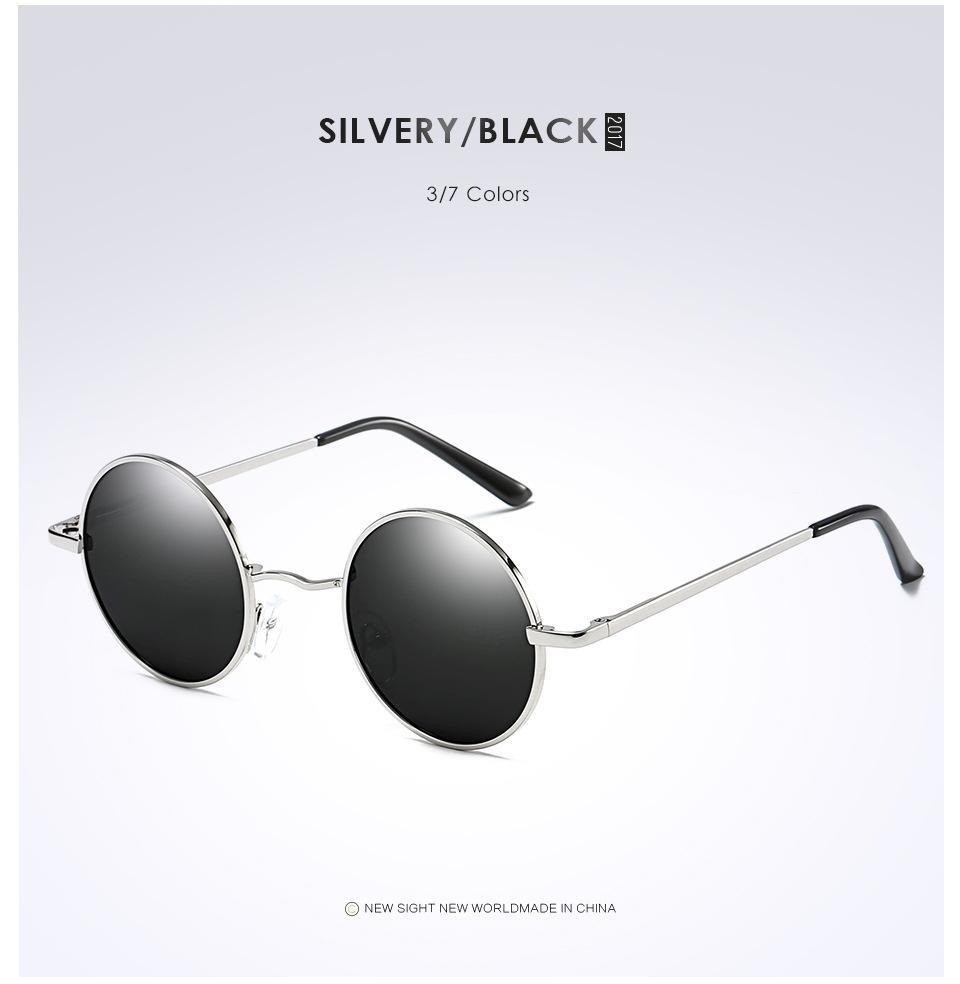 76e2d74512 2019 Polaroid Sunglasses Driving Polaclassic Polarized Sunglasses Anti UV Sunglasses  Round Glasses Unisex Prince Glasses From Sigmaor