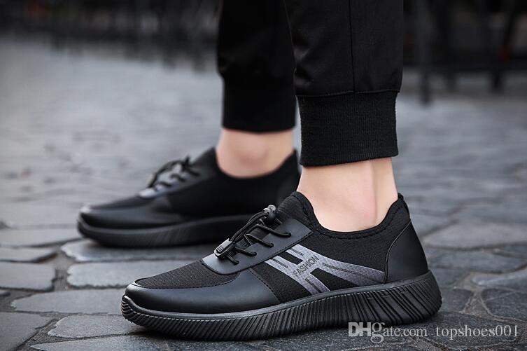 best authentic 360ff 7525a Compre 2018 Tendencia De Calidad Superior Mosca Netting Zapatos Moda  Zapatilla De Deporte Cordones Zapatos De Hombre De Baja Altura Zapatos  Cómodos De Gran ...