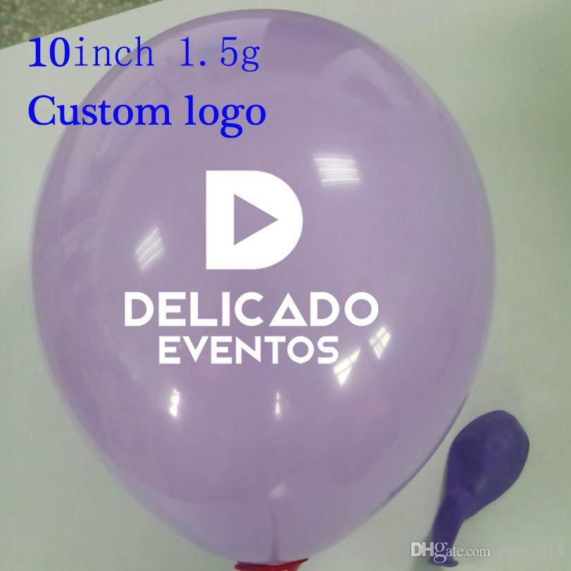 2018 logo diy balloons wedding decorations birthday party supplies 2018 logo diy balloons wedding decorations birthday party supplies advertising promotional props size 10in ches 15g moq printing from funny918 junglespirit Gallery