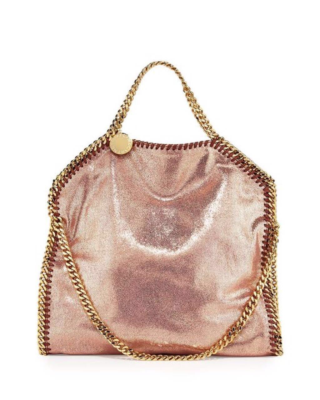 New Listed Stella Falabella Shaggy Deer Pvc Shine Rose Golden Chain Luxury  Tote Exclusive Sale Stella Bag Online with  118.57 Piece on  Junjietrade168 s ... 1e8edf475a7aa