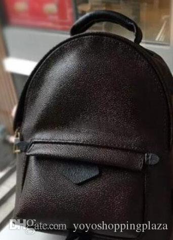 Mens Designer Backpacks Leather 2018 Famous Brown Women Men Lady