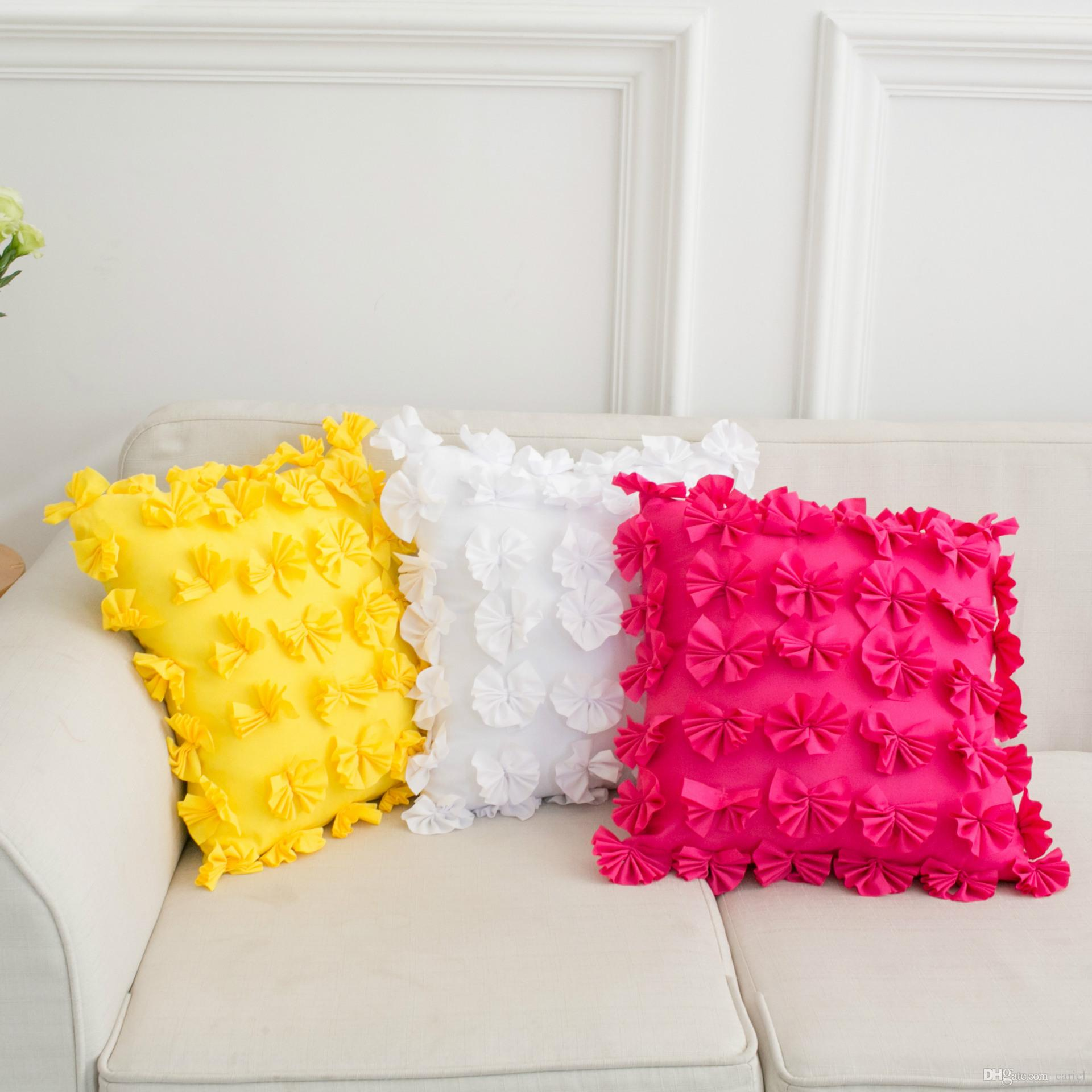 2018 Creative Decorative Modern Cushion Pillows Cover Cushions