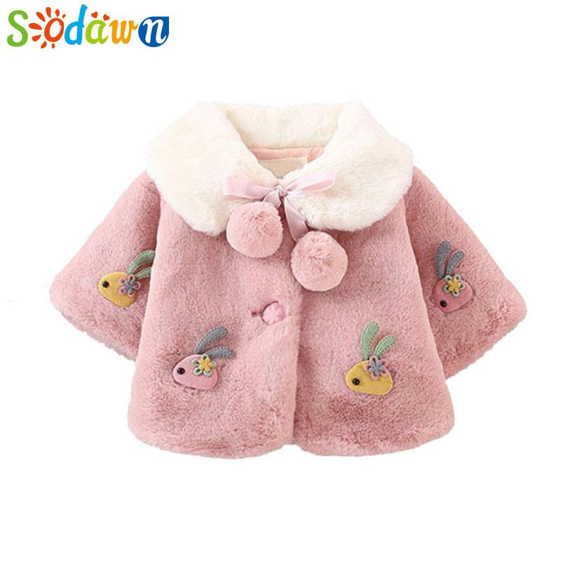 7e7b0ce0b6591 Sodawn Baby Girl Clothes Autumn Winter Princess Coat Infant Cute Out Small  Shawl 6M 24M Children Clothing Baby Girls Coat Girls Navy Blue Jacket Winter  ...