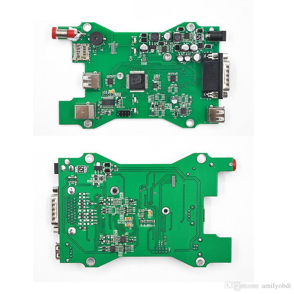 V98 VCM II IDS Ferramenta de diagnóstico verde única Placa Para Ford / Mazda VCM 2 Scanner VCM2 OBD2 Frete grátis 2016 Mais recente versão V98 VCM II