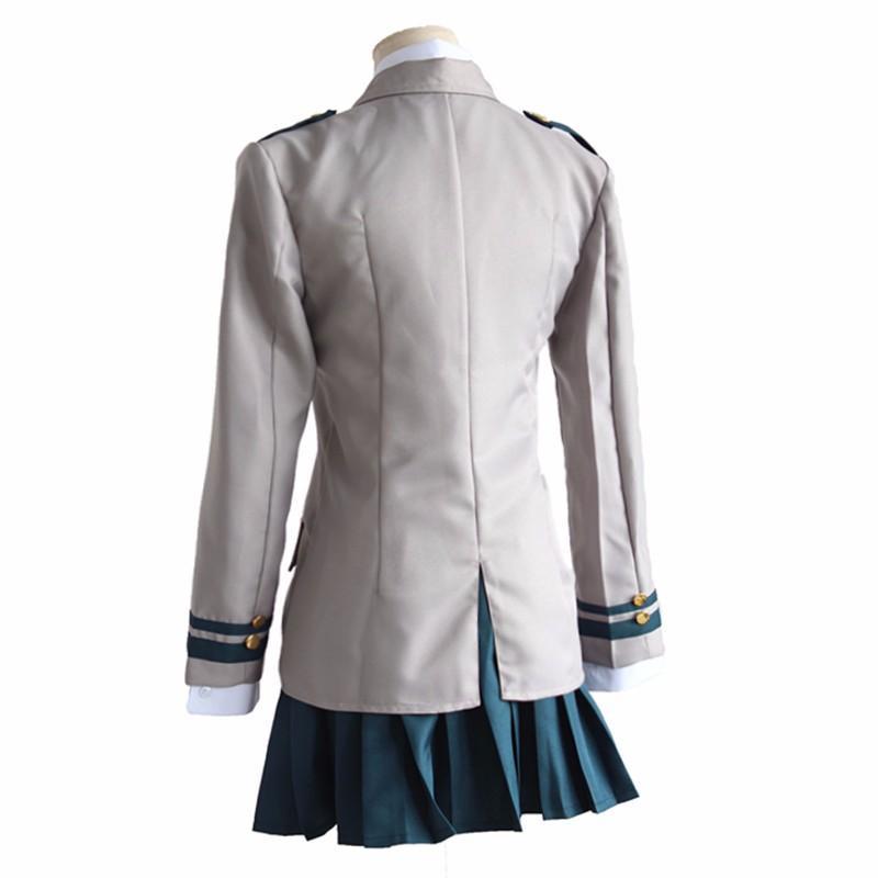 Боку не герой OCHACO URARAKA Izuku Midoriya косплей костюмы Мой герой Академии Asui Цую Yaoyorozu Момо школьная форма костюм