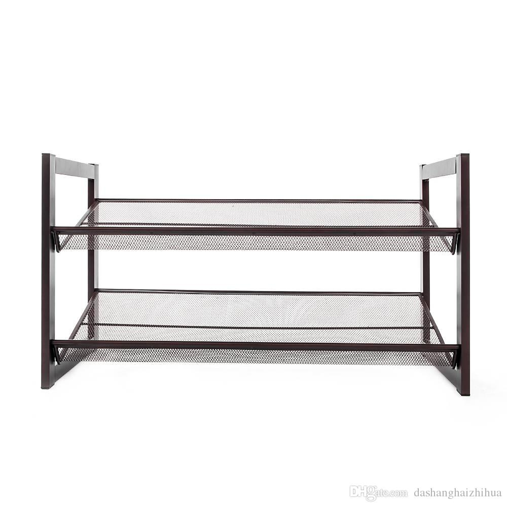 Online Cheap 2 Layer Iron Oblique Plane Shoe Rack Chromeplate By Dashanghaizhihua | Dhgate.Com  sc 1 st  DHgate.com & Online Cheap 2 Layer Iron Oblique Plane Shoe Rack Chromeplate By ...