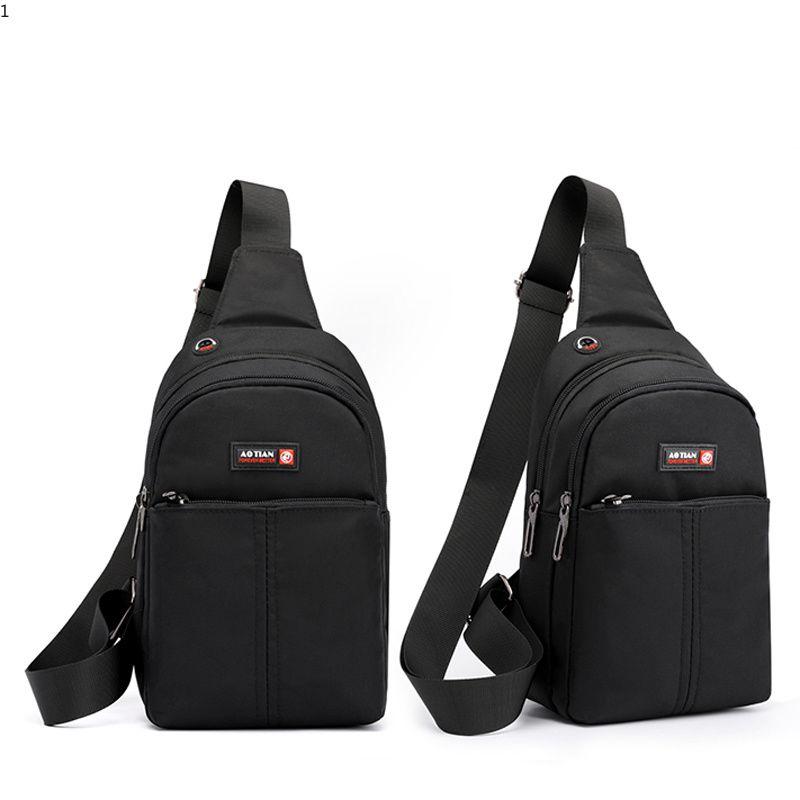 c4c5bddf33cd New Men Oxford Waterproof Chest Bag Anti Theft Waterproof Single Male  Shoulder Bag Fashion Sling Cross Body Bags for Teenage Boys