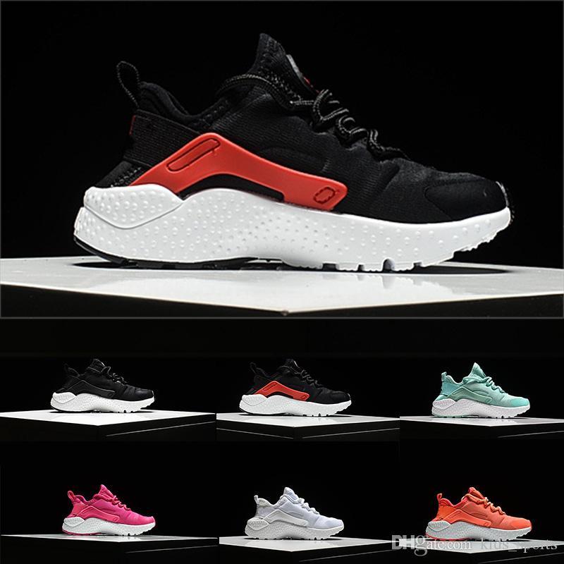 finest selection e1116 d7c43 Großhandel Nike Air Huarache Air Kids Huarache Run 1 Schuhe Jungen  Laufschuhe Kinder Huaraches Outdoor Kleinkind Sportlich Junge Mädchen  Infant Sneaker Von ...
