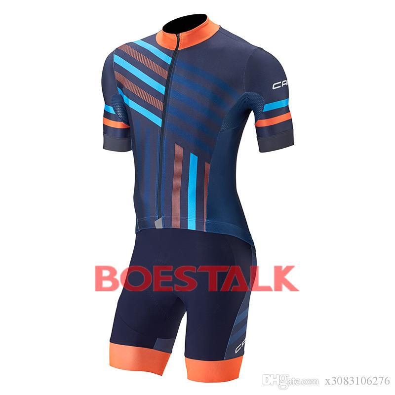2018 CAPO competitive cyclist talia custom short sleeve cycling jersey maillot sets clothing bike bib short ropa ciclismo mtb bicicleta 9d
