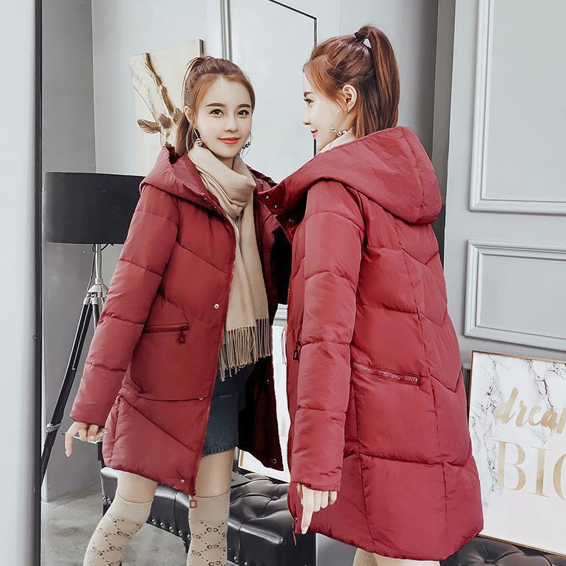 8acb95ea32e1 Acheter Automne Femme Long Code Même Chapeau Bas Veste D hiver Hommes De   160.96 Du Shoppingparty