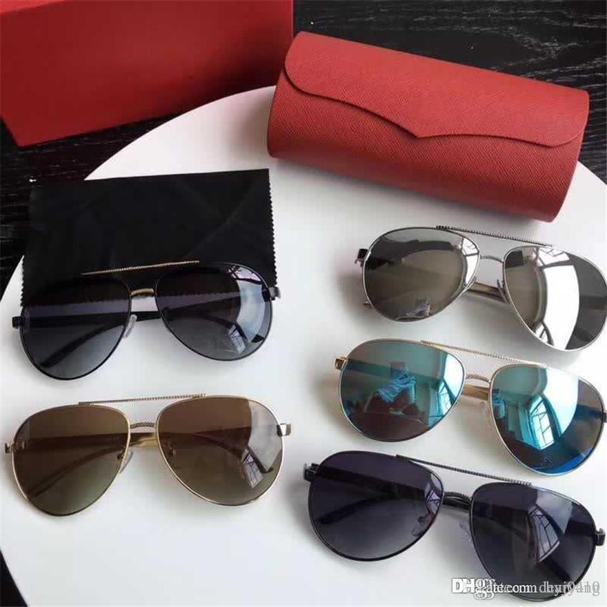 bf6c82afa8 2018 Luxury Sunglasses for Women UV Protection Reflective Lens ...