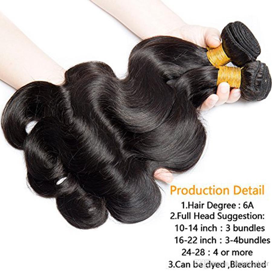 Горячие Продажи 100% Человеческих Волос Объемной Волны 7А Малайзии Плетение Волос Для Чернокожей Женщины Кристина Волос Продукты Двойной Уток 4 шт. Пучки Расширение