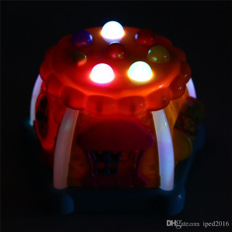 Çocuk Elektronik Oyun LED Eğitici Oyuncak Müzikal Çocuk Öğrenme Çocuk Çalışma Geliştirme Oyunları Renkli
