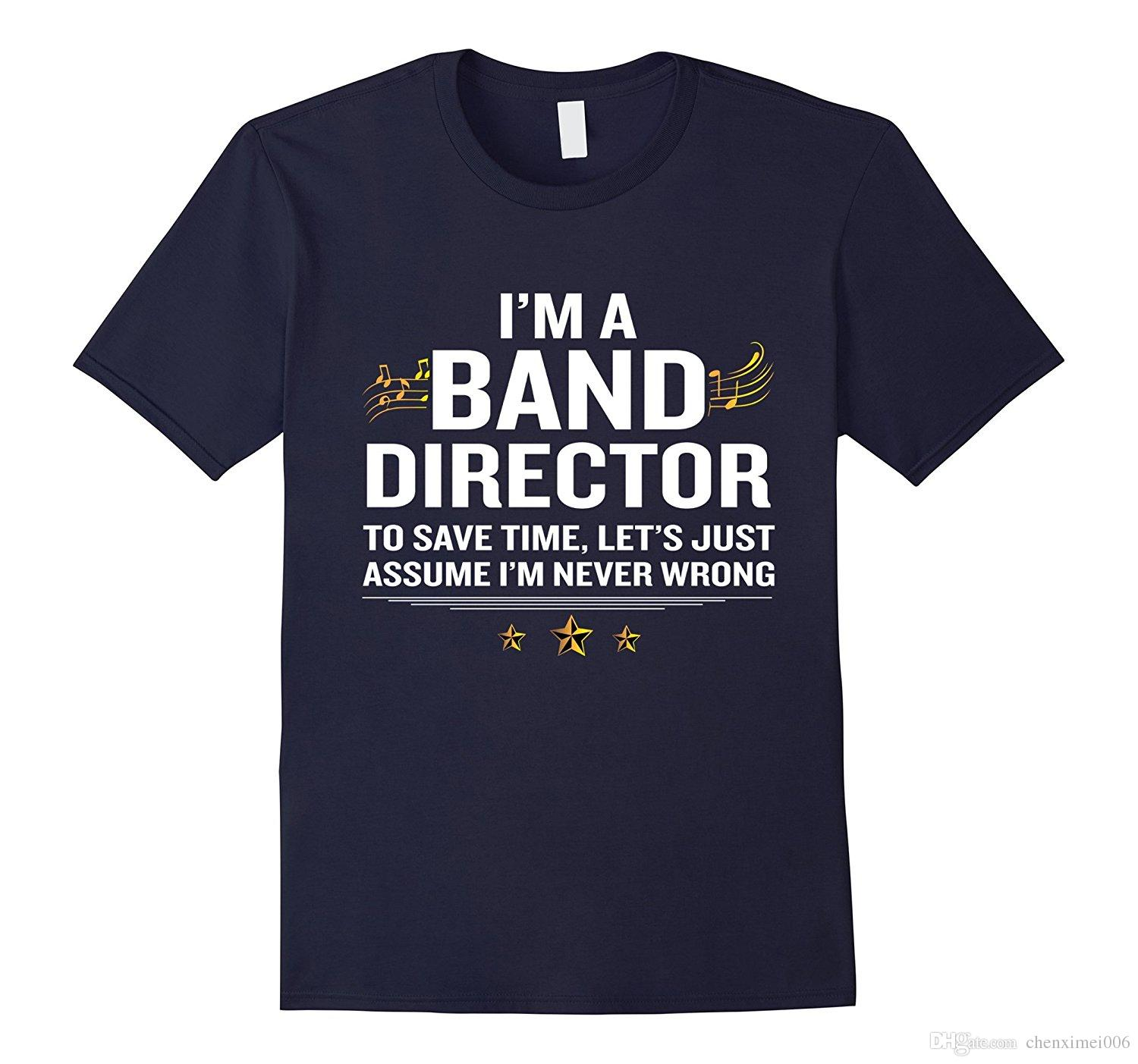 Band Director T Shirt Funny Quote Gold Awesome Meaning Gift Best ...