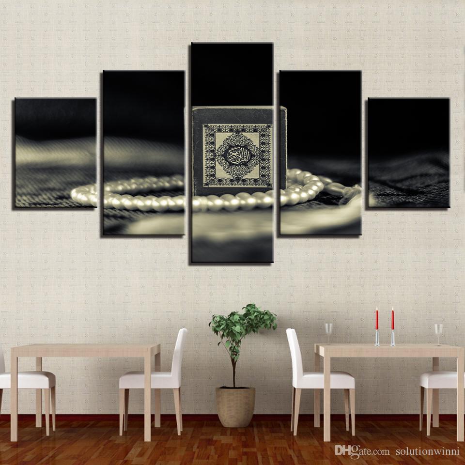 Großhandel Leinwand HD Print Malerei Für Wohnzimmer Decor 5 Stücke ...