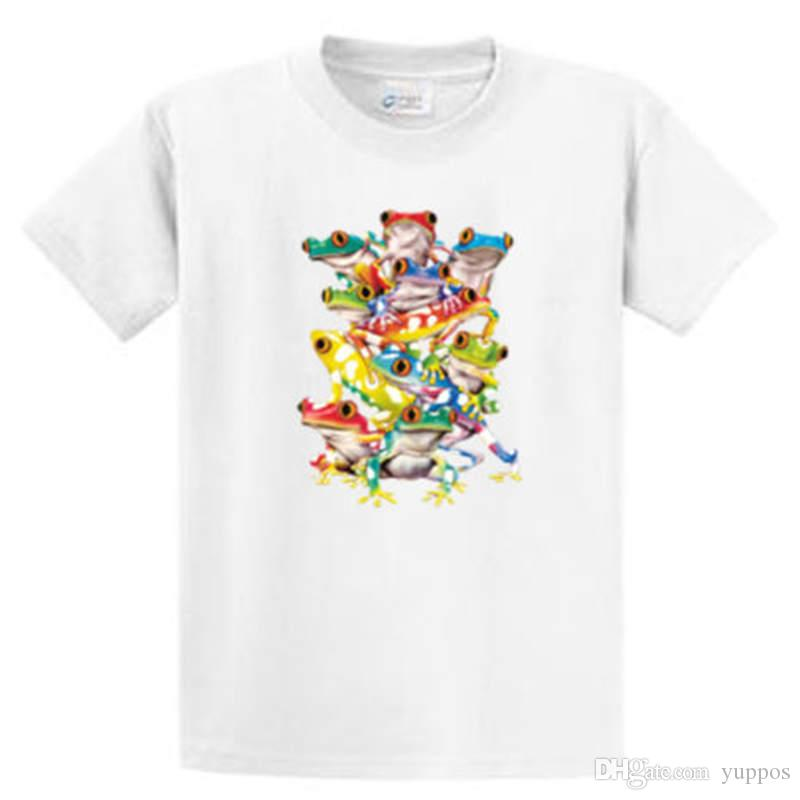 629b10750 Novelty Design Men Solar Color Changing Frogs Printed Tee Shirts Mens Reg  To Big And Tall Port & Co Novelty Tee Buy Cool Shirts Online Funny T Shirt  Sites ...