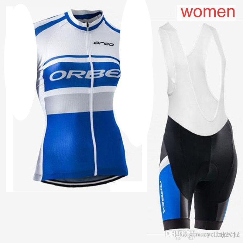 ORBEA Team Cycling Sleeveless Jersey Vest Bib Shorts Sets 100 ... 65c54bf0e