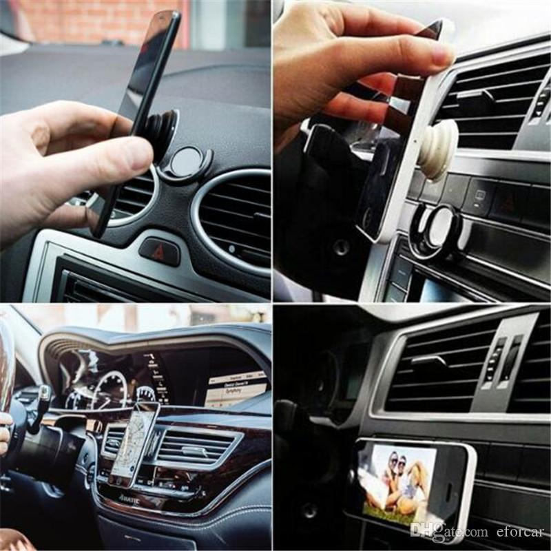 Adhesive Cell Phone Hook for Car Air Vent Wall Office Universal Phone Mounts Clip Clasp Holders