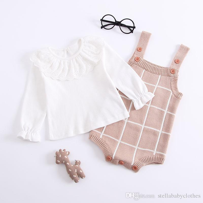3624baf55 2019 Baby Autumn And Winter Clothing Onesies 0 1 2 Years Old Female ...