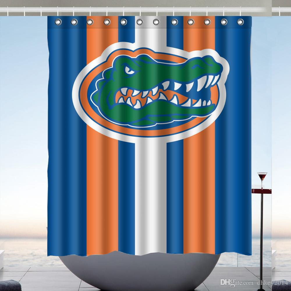 2019 Custom Florida Gators Waterproof Bathroom Shower Curtain Polyester Fabric Size 60 X 72 From Dhkey2014 3517