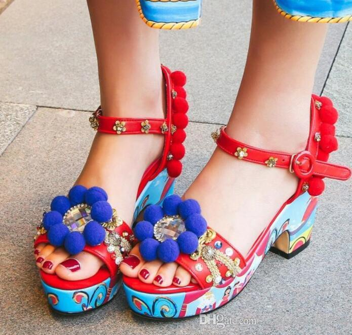 Compre Zapatos Sandalias Boda Estilo Las 2018 Mujeres De Bohemio fgYby67